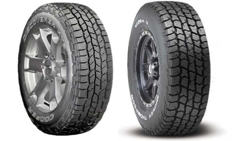 Cooper Discoverer AT3 4S and Mickey Thompson Deegan 38 All Terrain Tyres v3