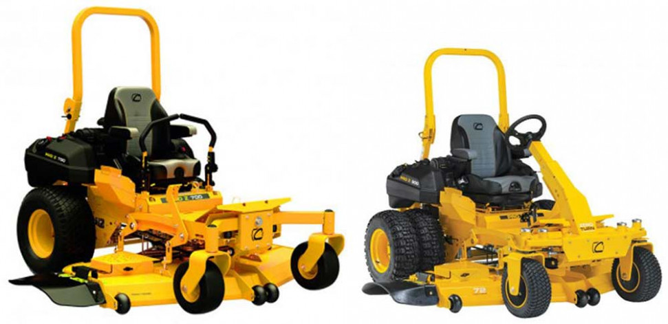 Cub Cadet Pro Z 700 and 900 Zero Turn Lawn Mowers