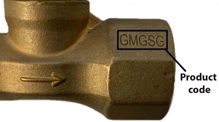 Grillman Gas Safety Shut Off Valve product code