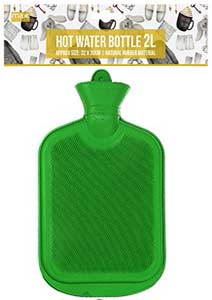 Paramount Mer Hot Water Bottle 2l green