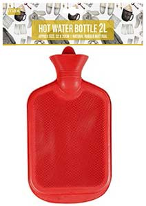Paramount Mer Hot Water Bottle 2l red