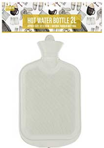 Paramount Mer Hot Water Bottle 2l white