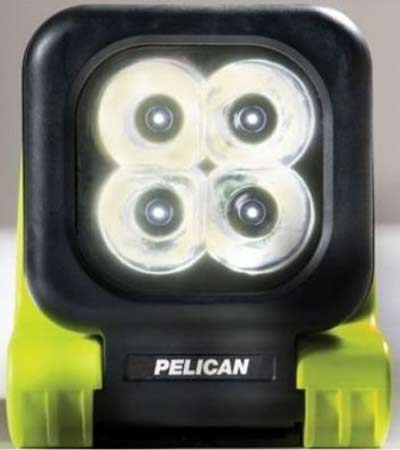 Pelican 9415 NiMH Flashlight front