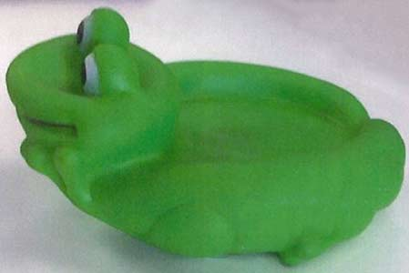 Smartbuy Green frog bath toy
