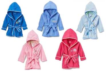 Sweet and Soft Childrens Bathrobes
